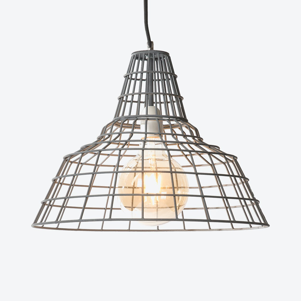 "Pendant Light ""Griller"" Punt Vintage Green"
