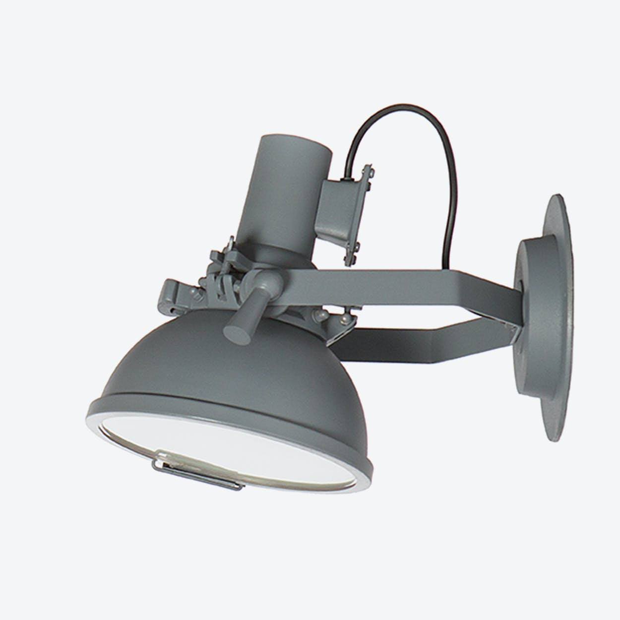 "Wall Lamp ""Marina"" in Sandpaper Grey"