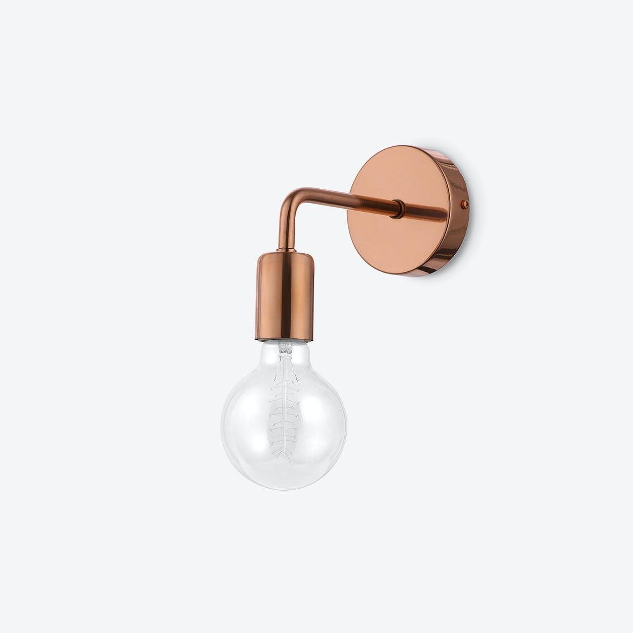 Pot Loft Wall Lamp in Copper
