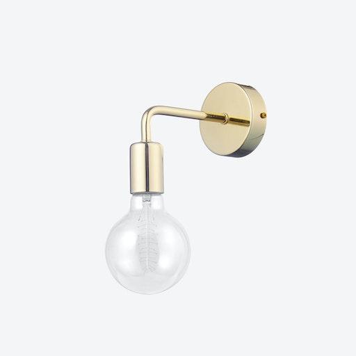 Pot Loft Wall Lamp in Brass