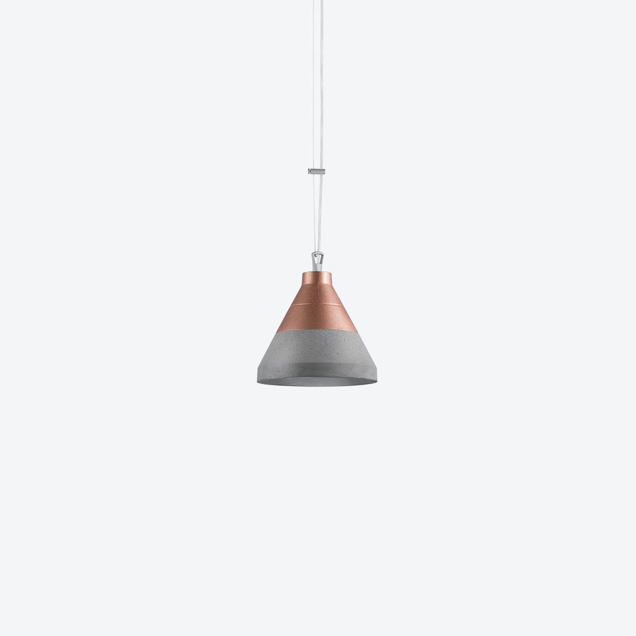 Craft Pendant Lamp in Copper / Up