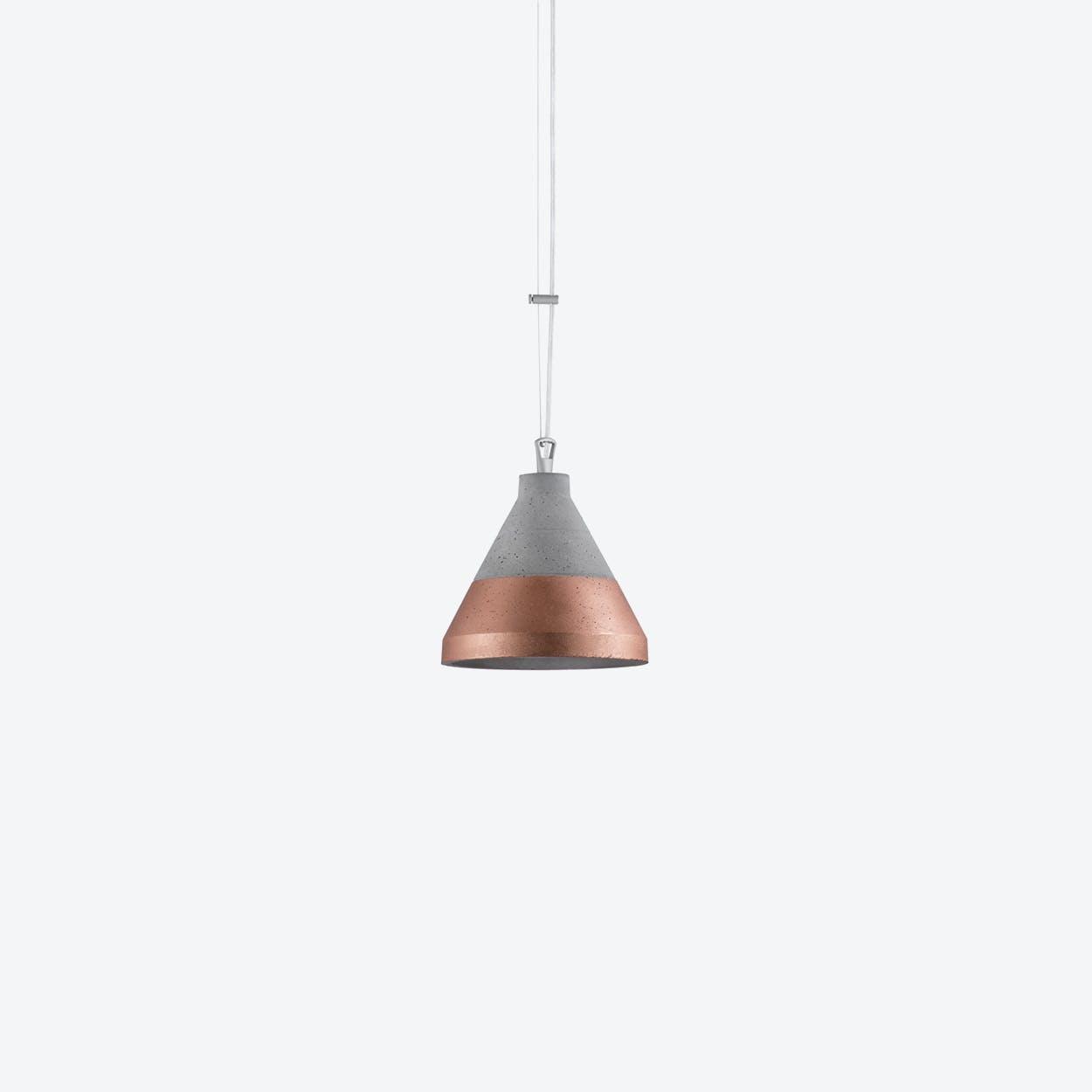 Craft Pendant Lamp in Copper / Down