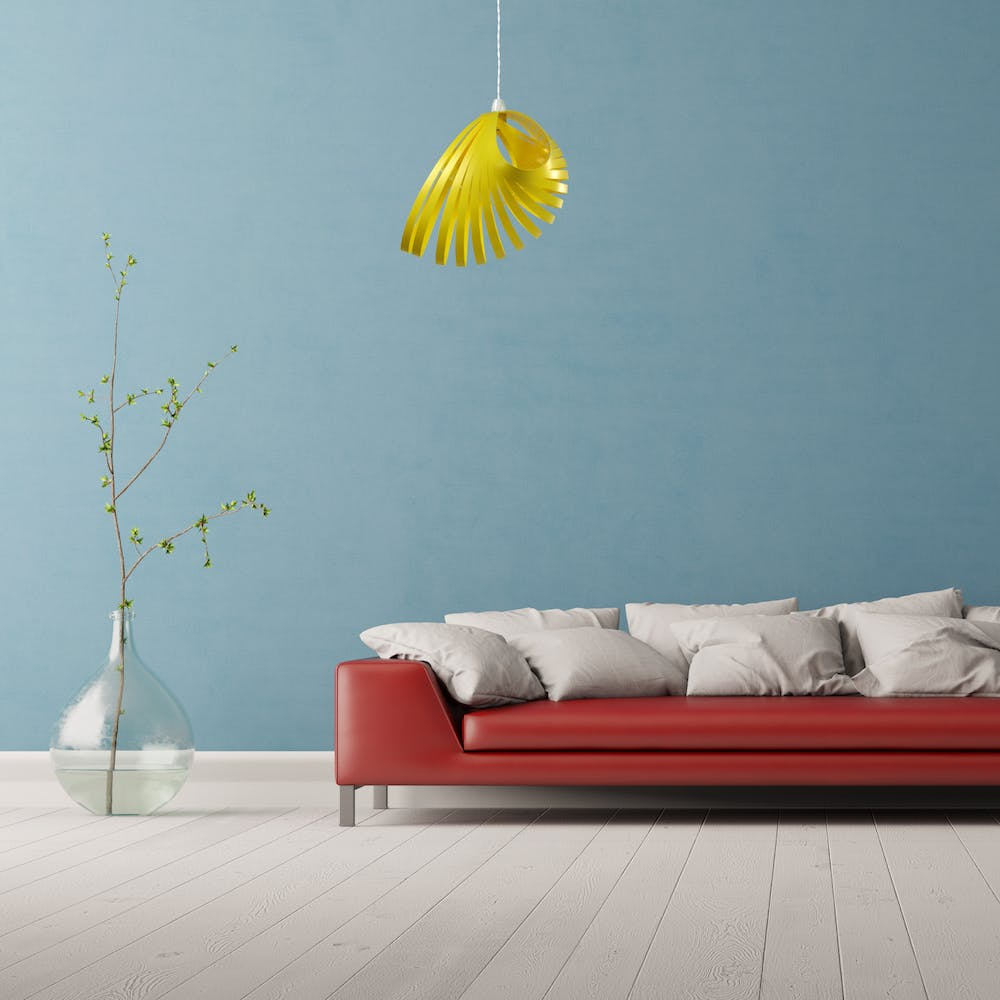 Nautica Pendant Light Shade in Yellow