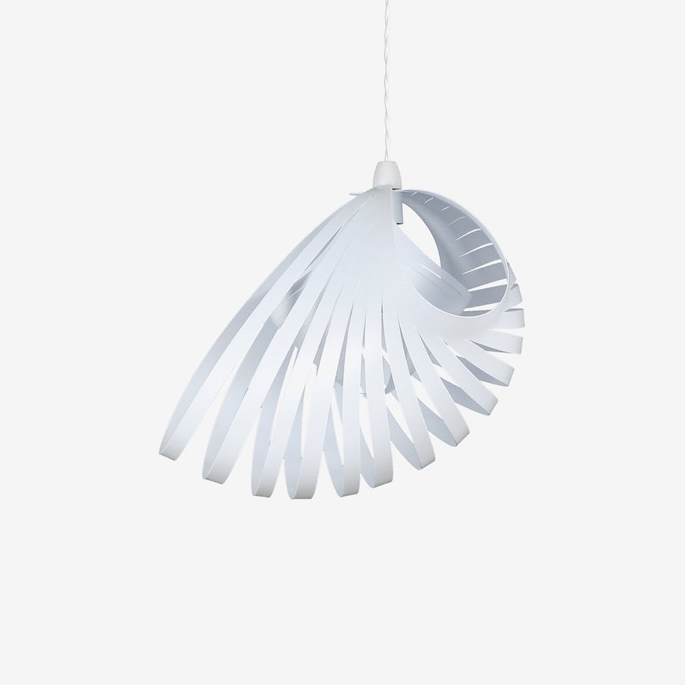 Nautica Pendant Light Shade in White