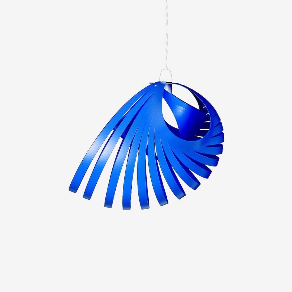 Nautica Pendant Light Shade in Aqua Blue