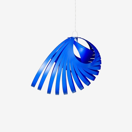 Nautica Pendant Light Shade in Aqua Blue