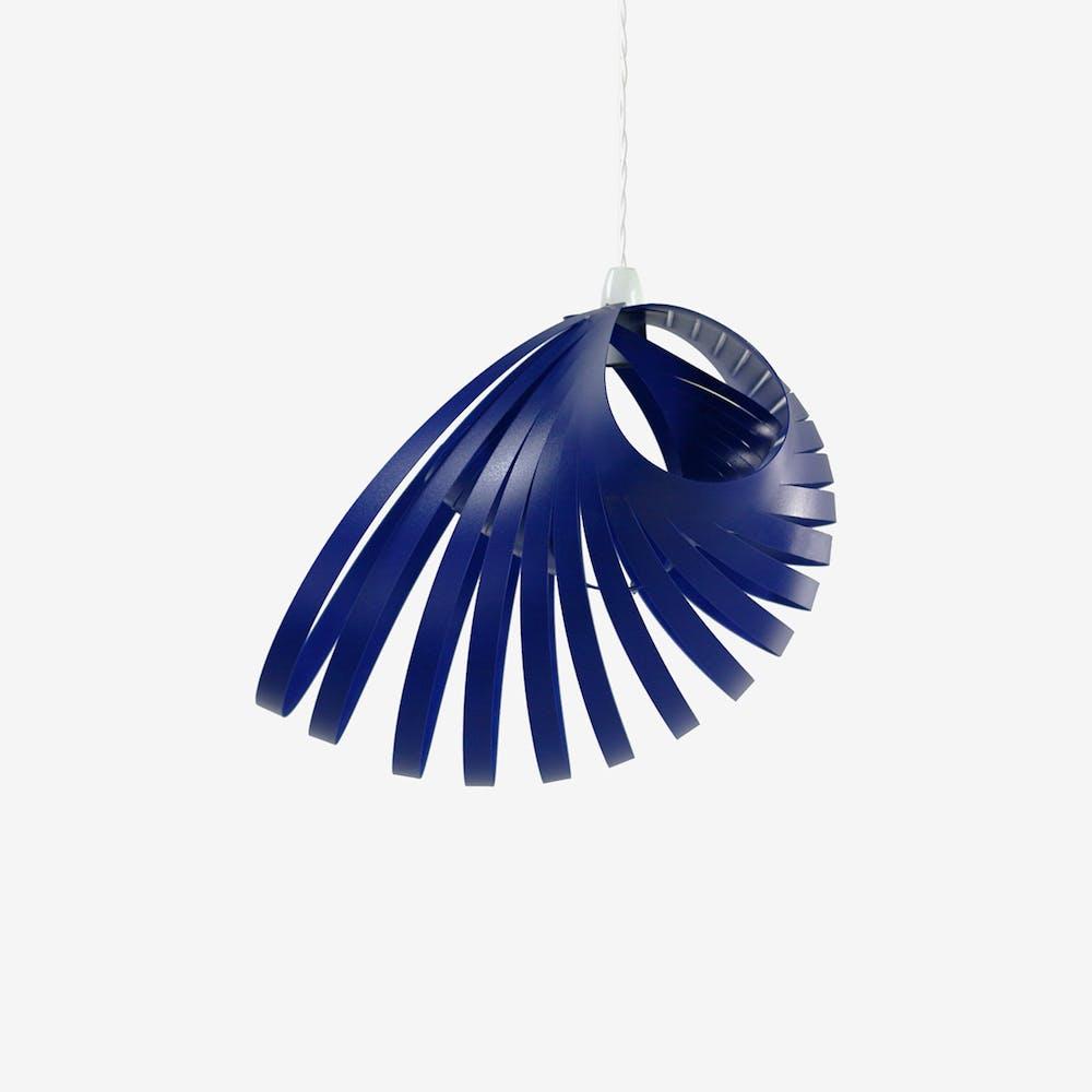 Nautica Pendant Light Shade in Euro Blue