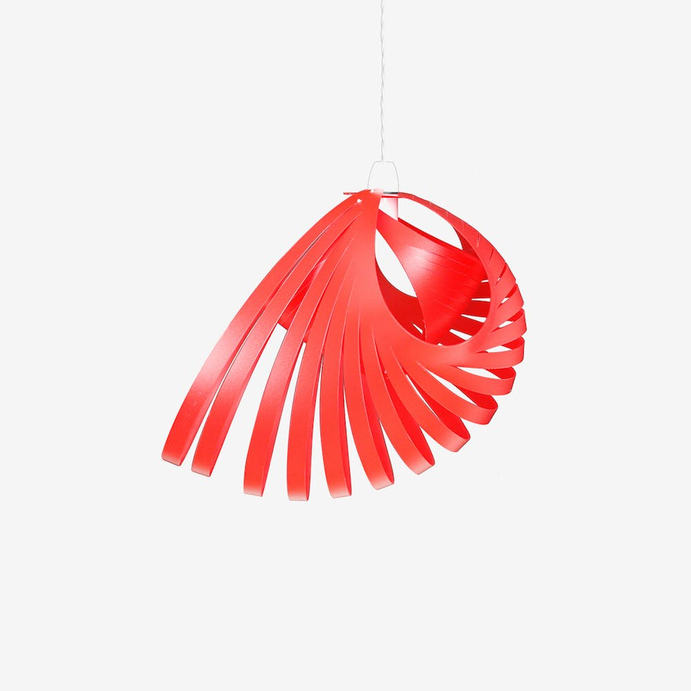 Nautica Pendant Light Shade in Red