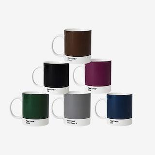 Porcelain Coffee Mugs  (Natural Tones)