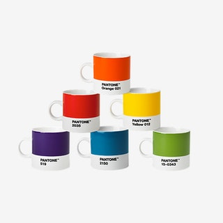 Porcelain Espresso Cups (Classic Tones)