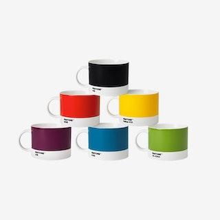 Porcelain Tea Cups (Classic Tones)