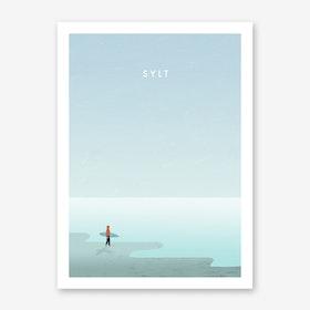 Sylt Art Print