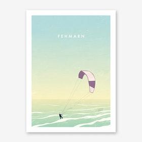 Fehmarn Art Print