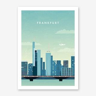 Frankfurt Art Print