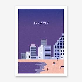 Tel Aviv Art Print