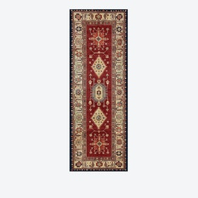 Noor Rug in Ruby