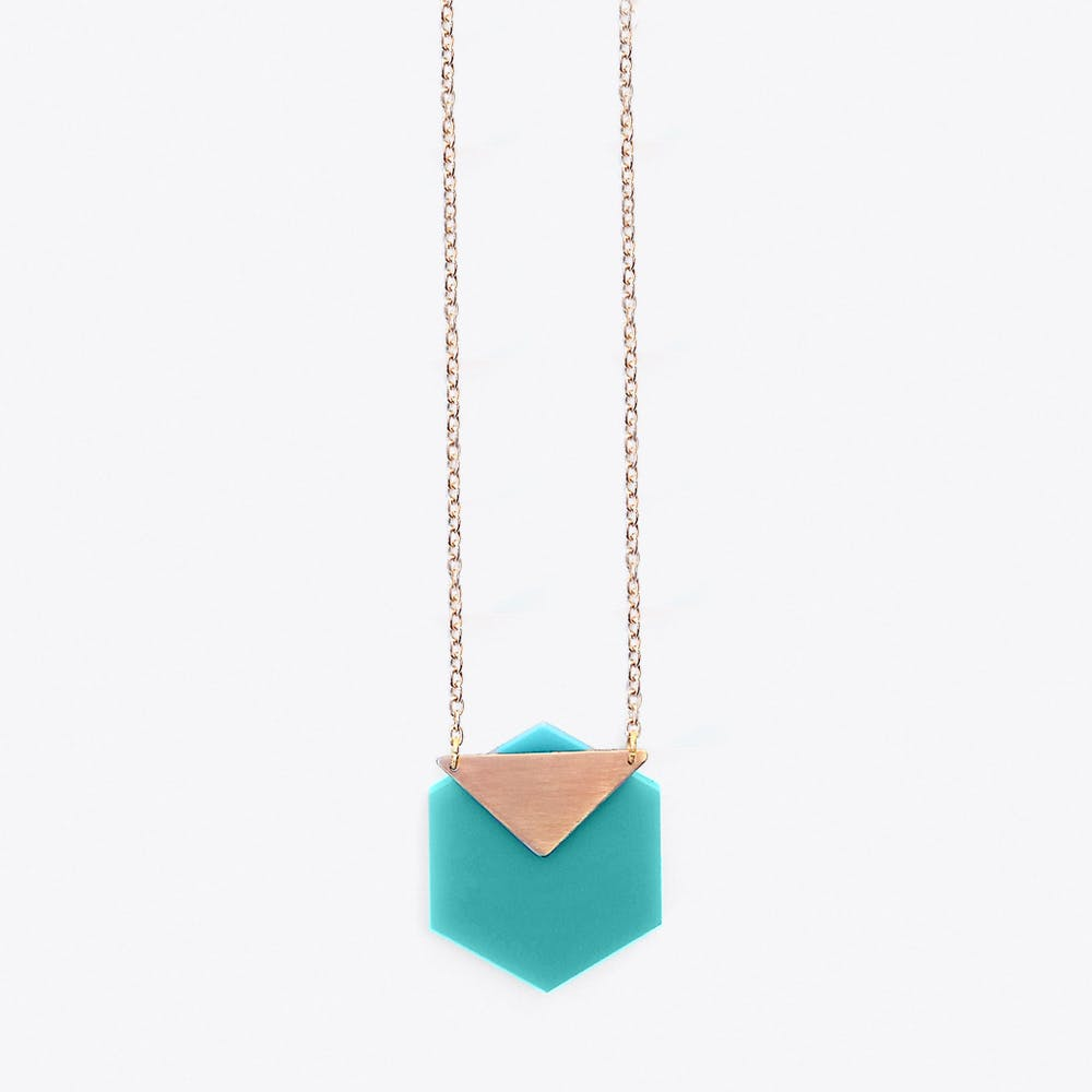 Vega Necklace in Turquoise
