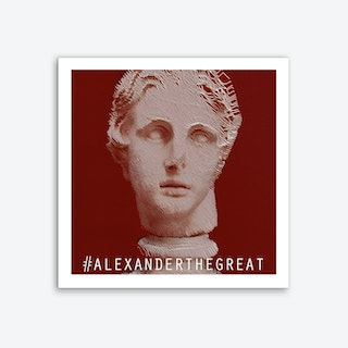 Alexander the Great Square Art Print