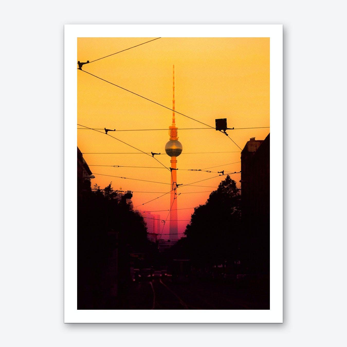 Berlin Sunset Art Print
