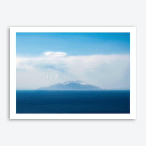 Blue Island Art Print