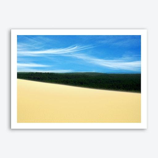 Desert Forest Sky Art Print