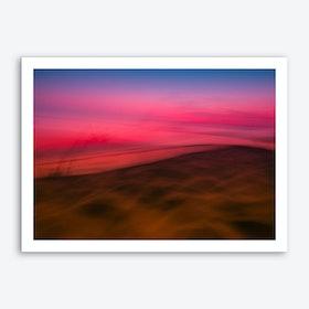 Dunedu Pilat Abstract Horizontal Art Print