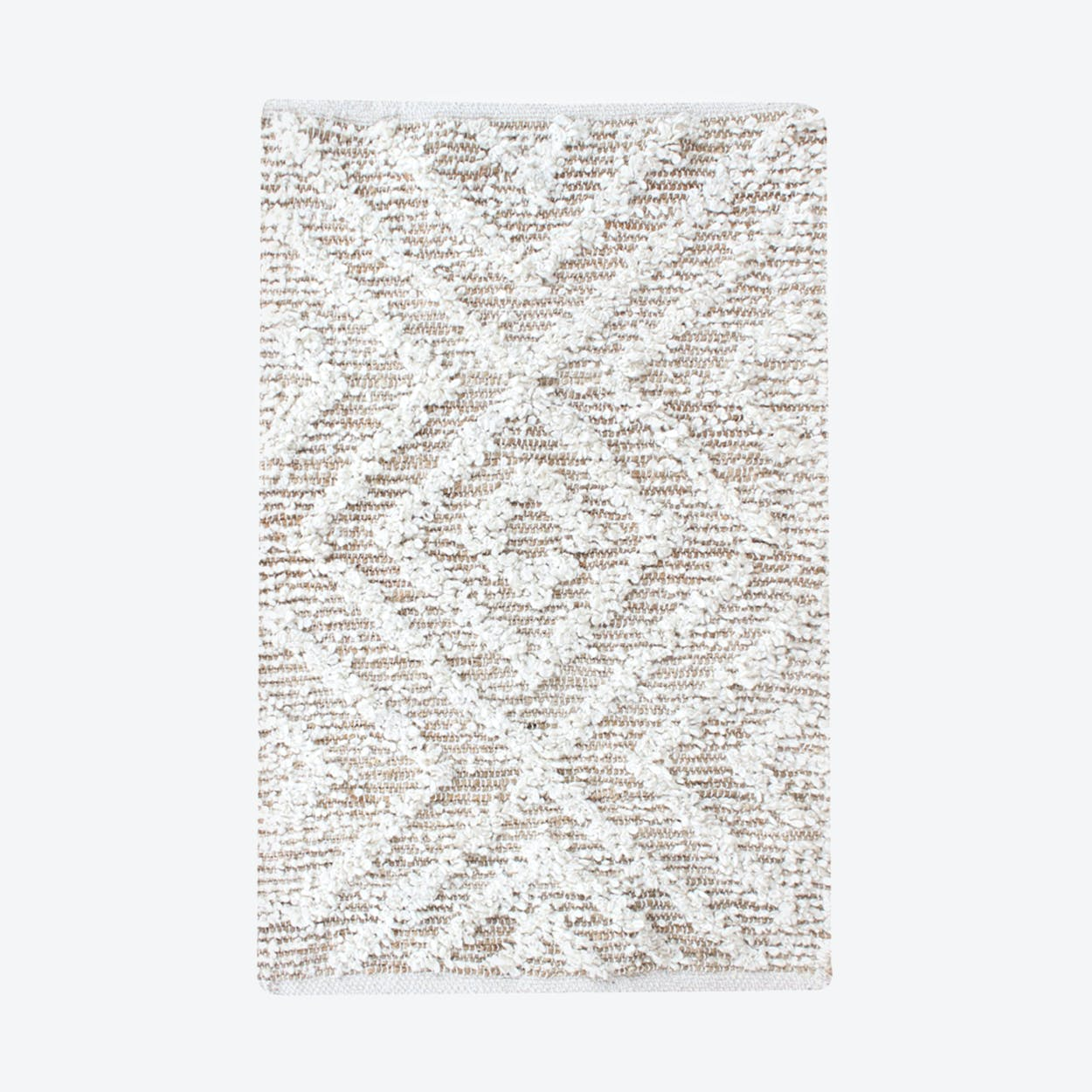 WORGAN Rug in Natural/Ivory