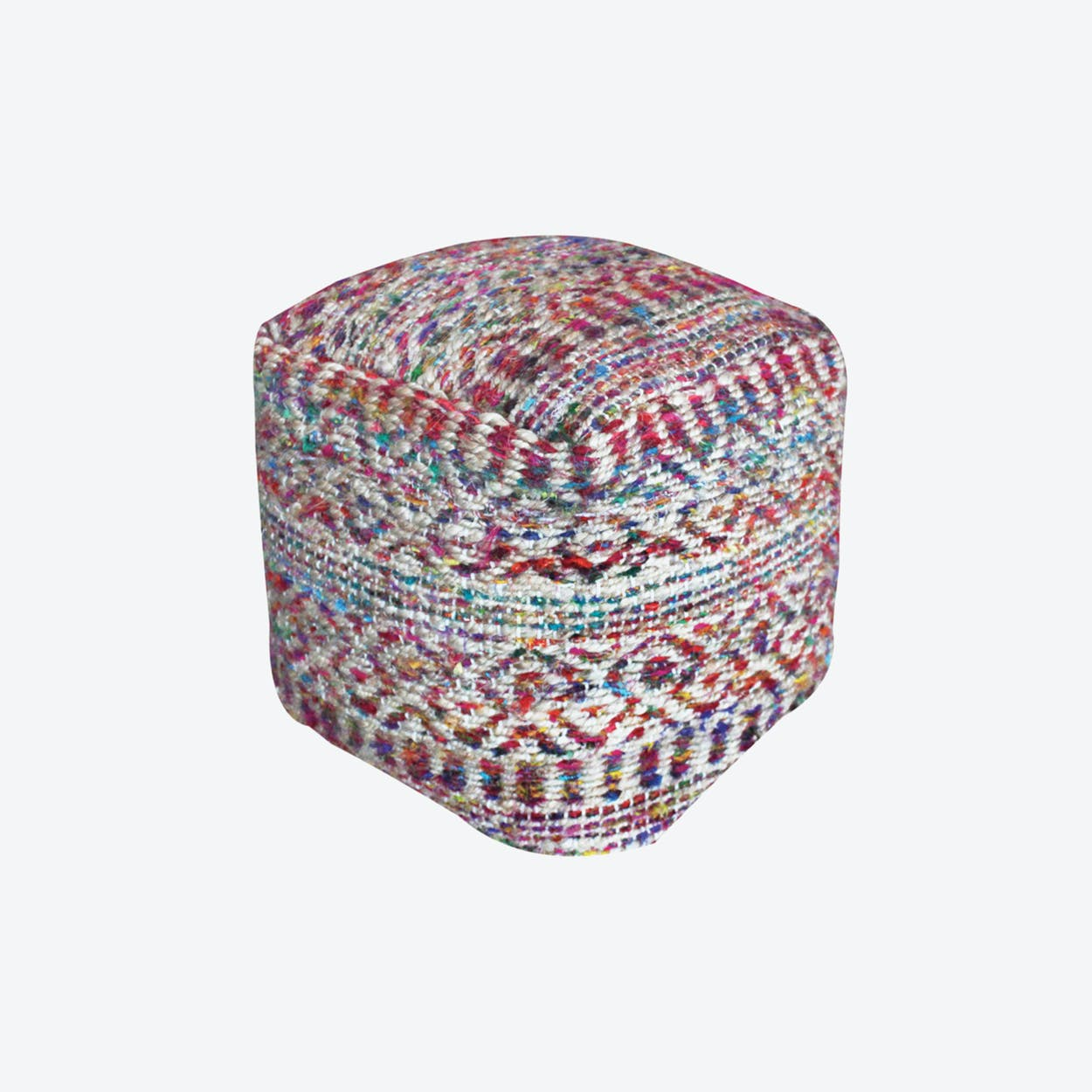 SARAH Pouf Mulit-Color (40x40x40)