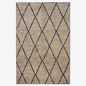 LARSON Rug in Natural/Ivory
