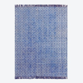 BUNDI Rug in Indigo