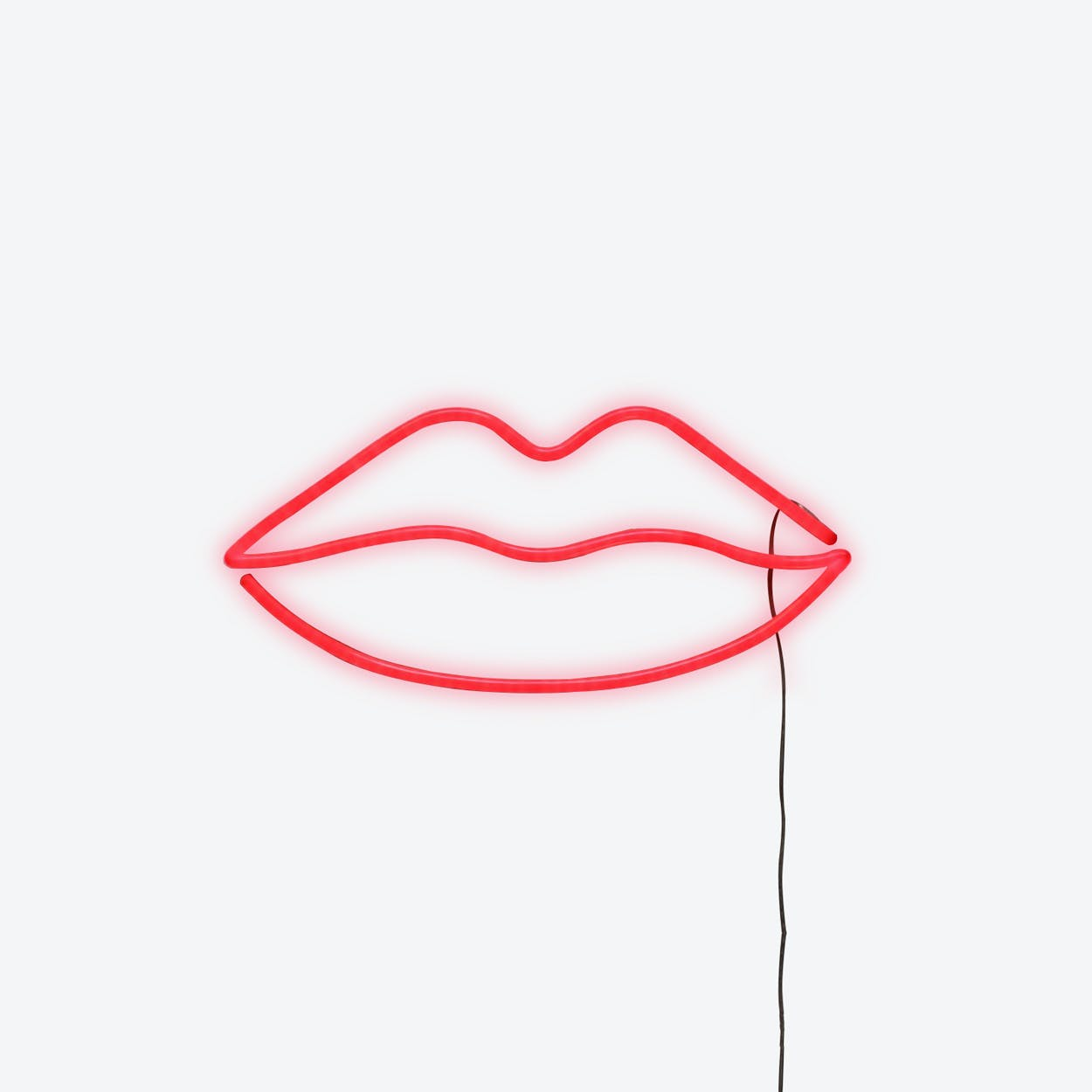 Red Lips LED Neon Light