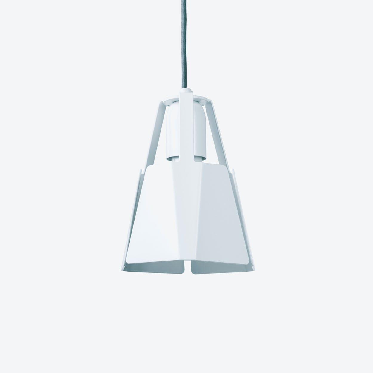 Beat Pendant Light Ø16 in White