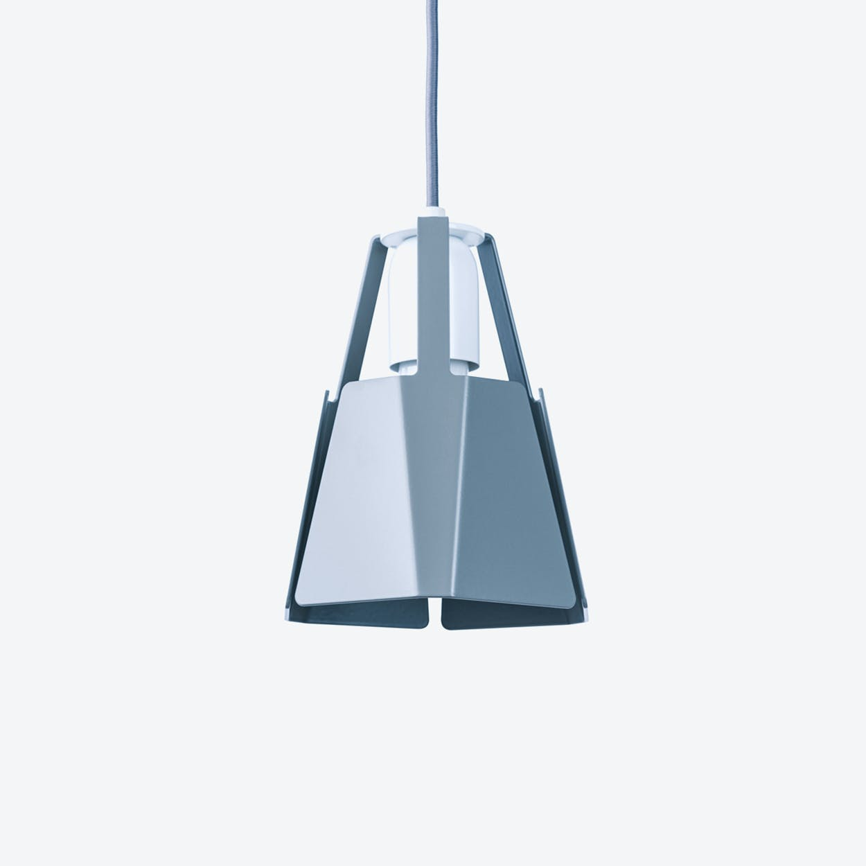 Beat Pendant Light Ø16 in Stone Grey