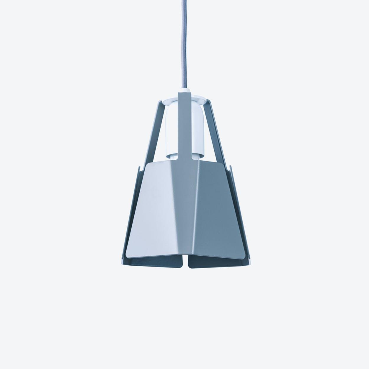 Beat Pendant Light Ø16 in Stone Grey