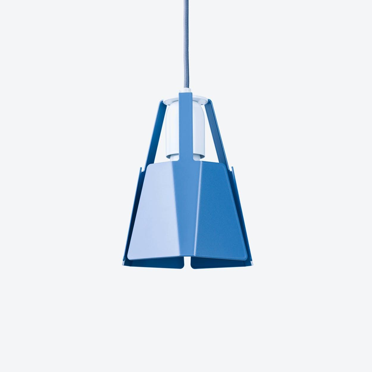 Beat Pendant Light Ø16 in Pigeon Blue