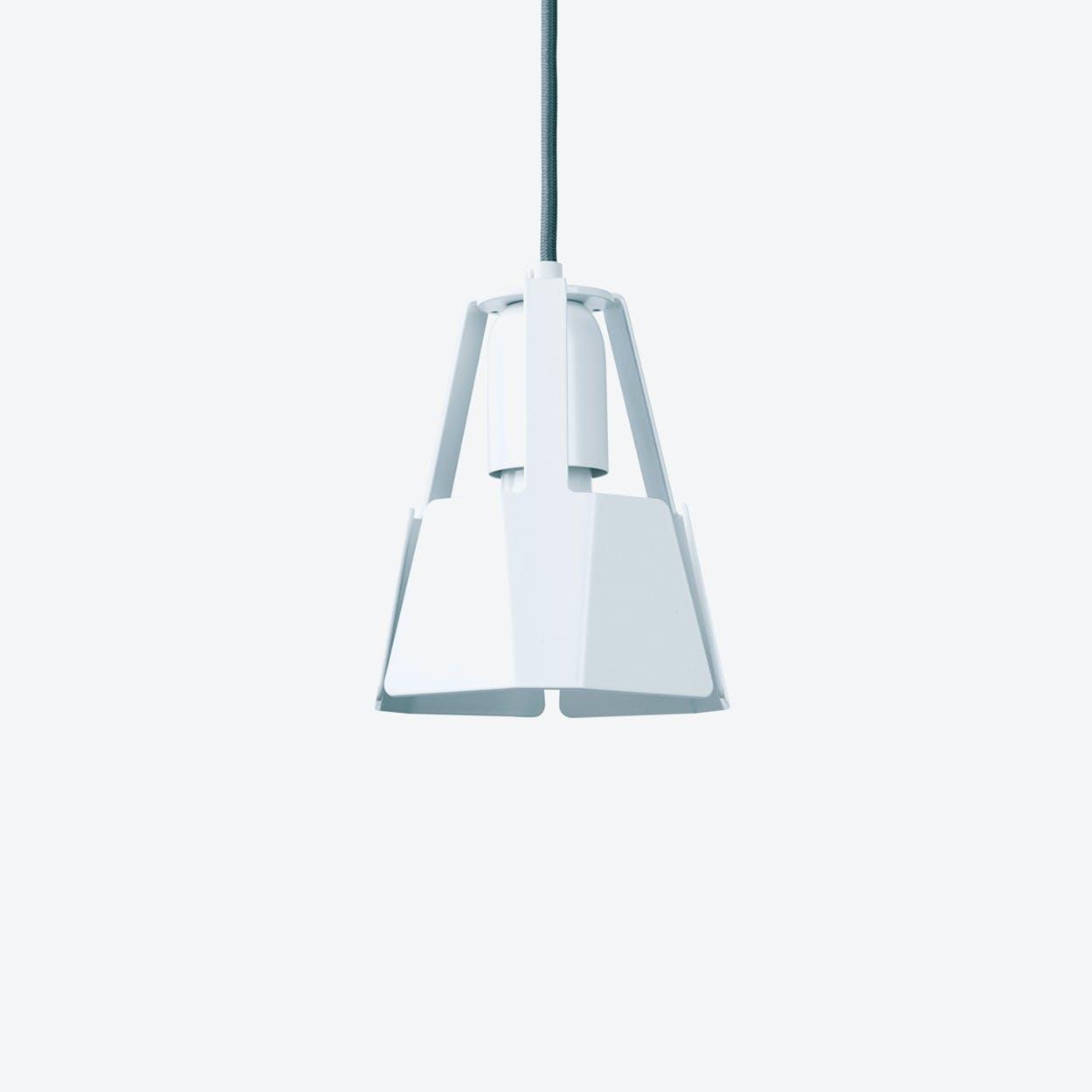 Beat Pendant Light Ø14 in White