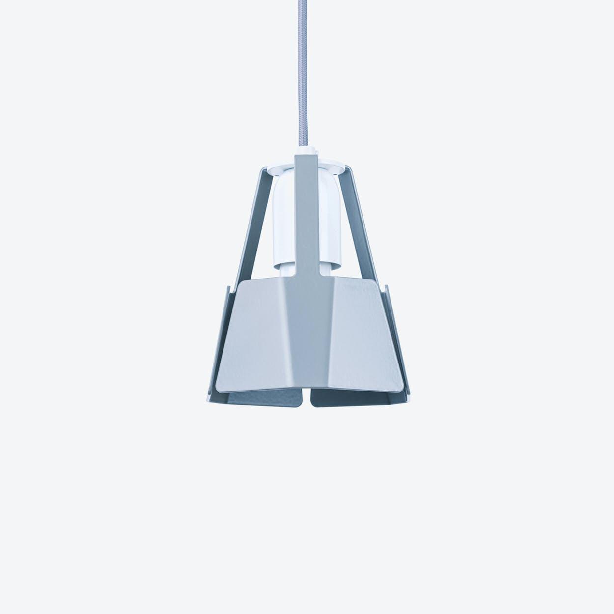 Beat Pendant Light Ø14 in Stone Grey