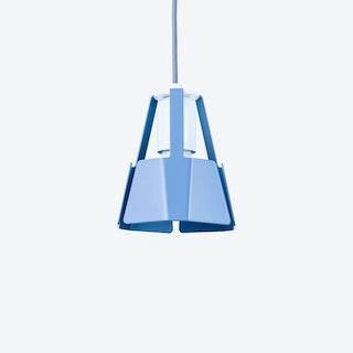Beat Pendant Light Ø14 in Pigeon Blue
