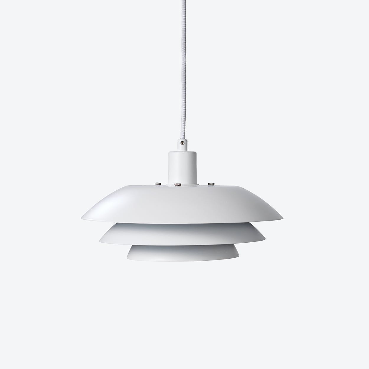 DL31 Pendant Lamp in Matte White