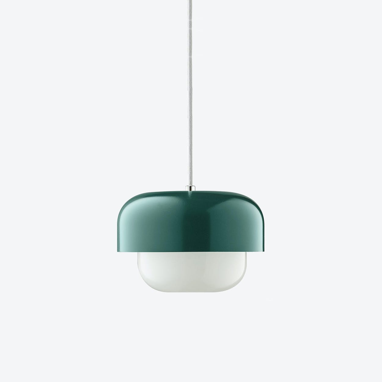 Haipot Pendant Lamp in Matzu Dark Green