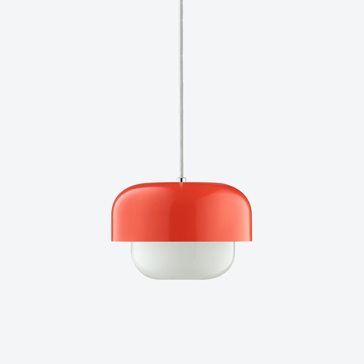 Haipot Pendant Lamp in Kousa Red