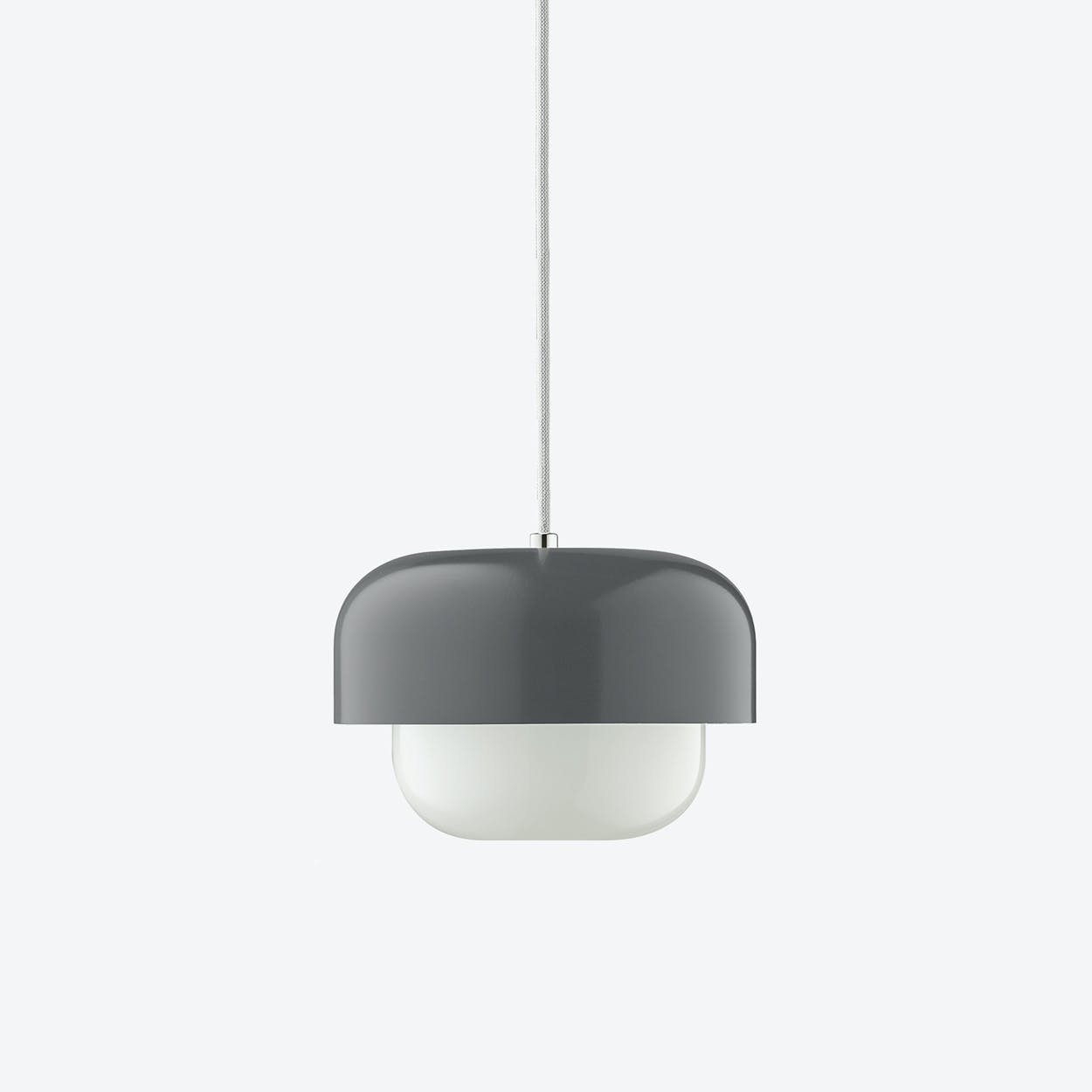 Haipot Pendant Lamp in Back Burn Smoke