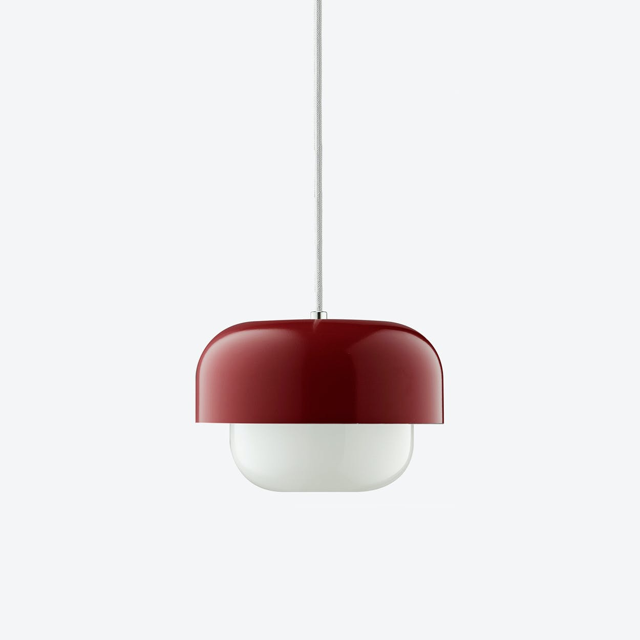 Haipot Pendant Lamp in Red Dusty Earth