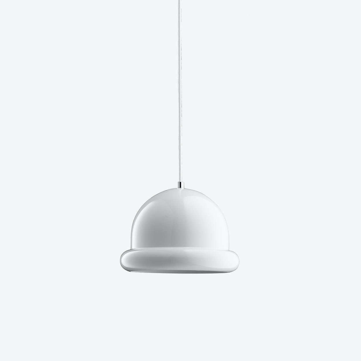 Hattrick Pendant Lamp in White