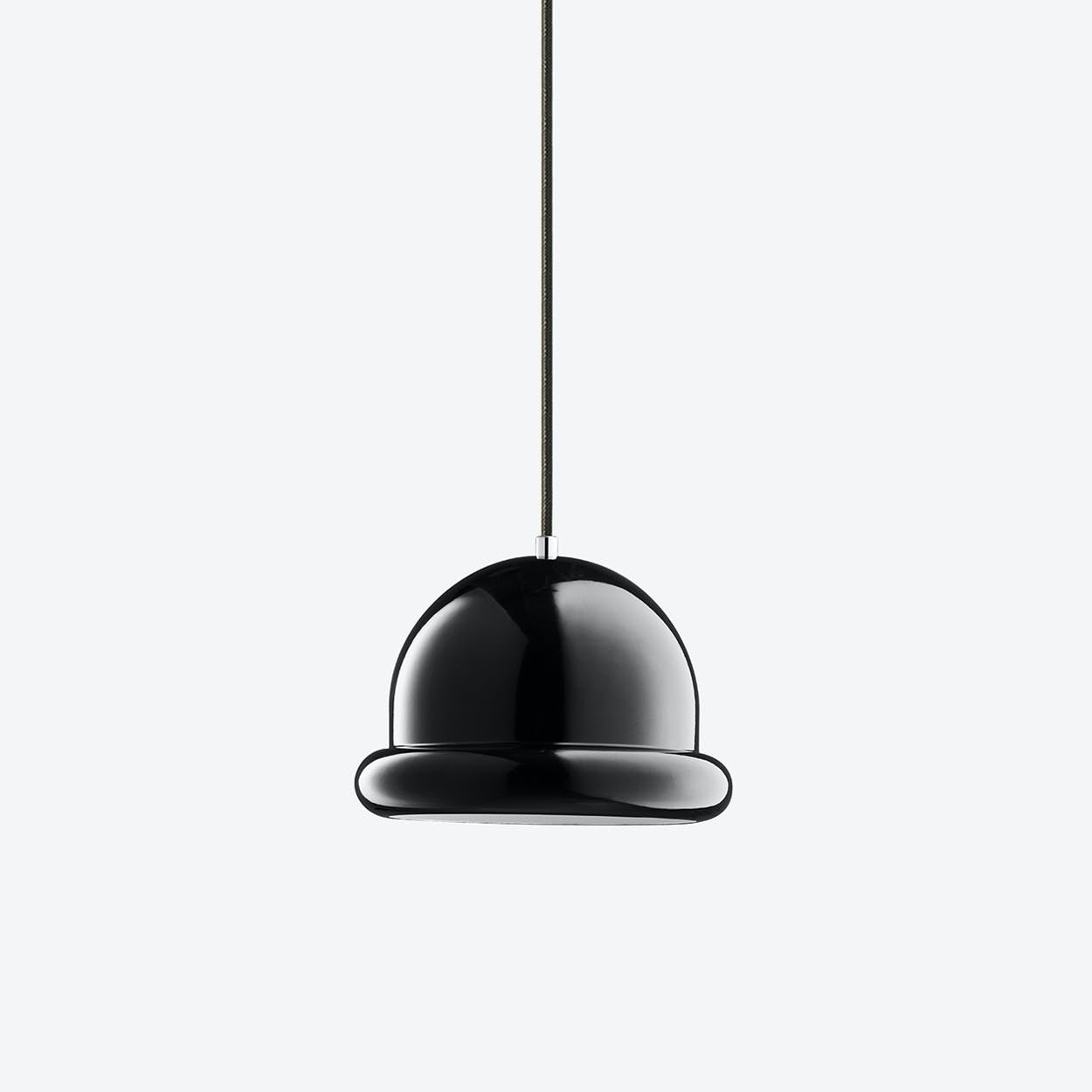 Hattrick Pendant Lamp in Black