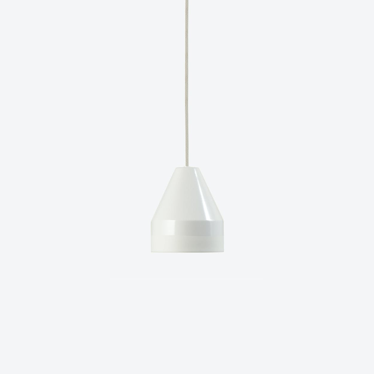 Crayon Pendant in White