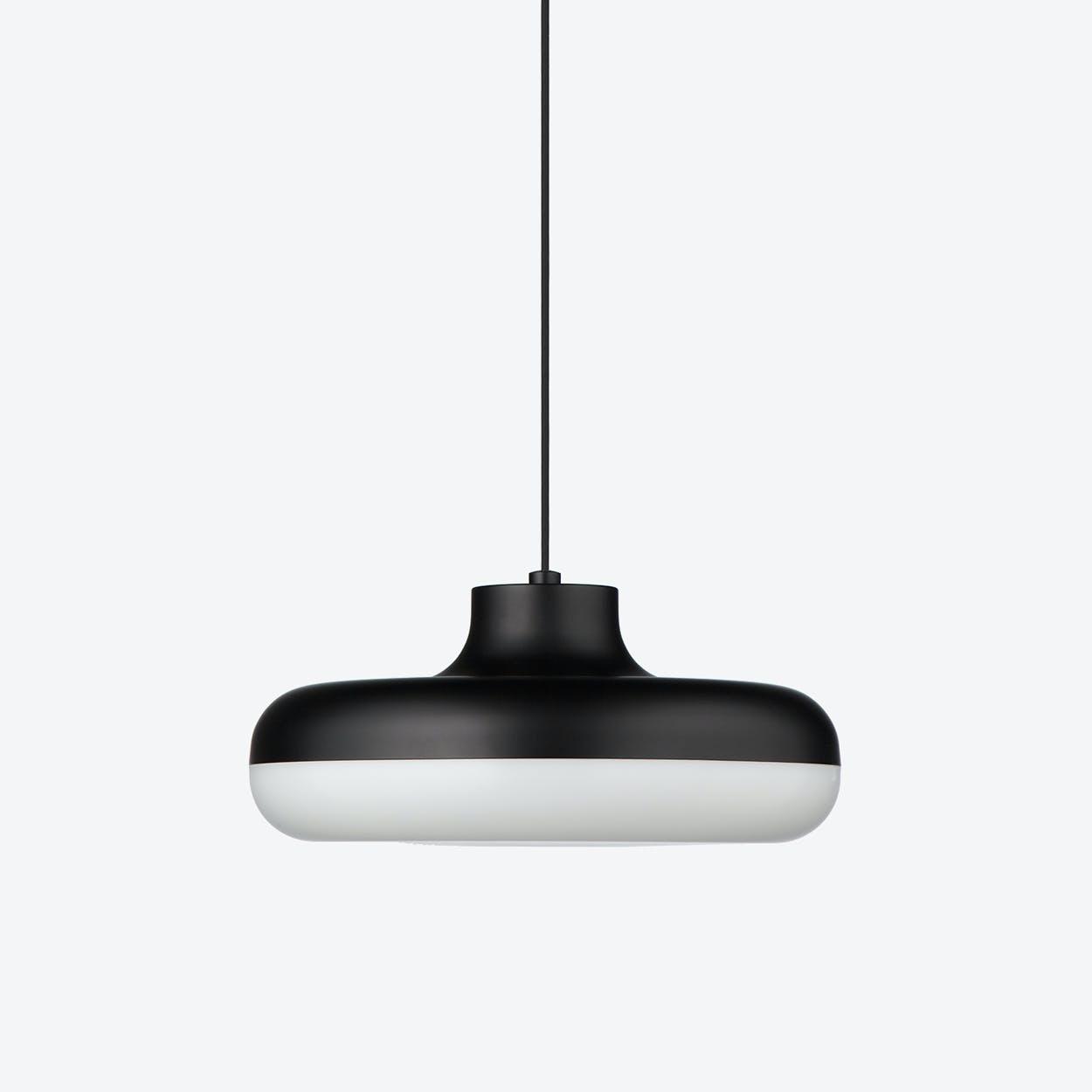 Chamberline Pendant Lamp in Matte Black