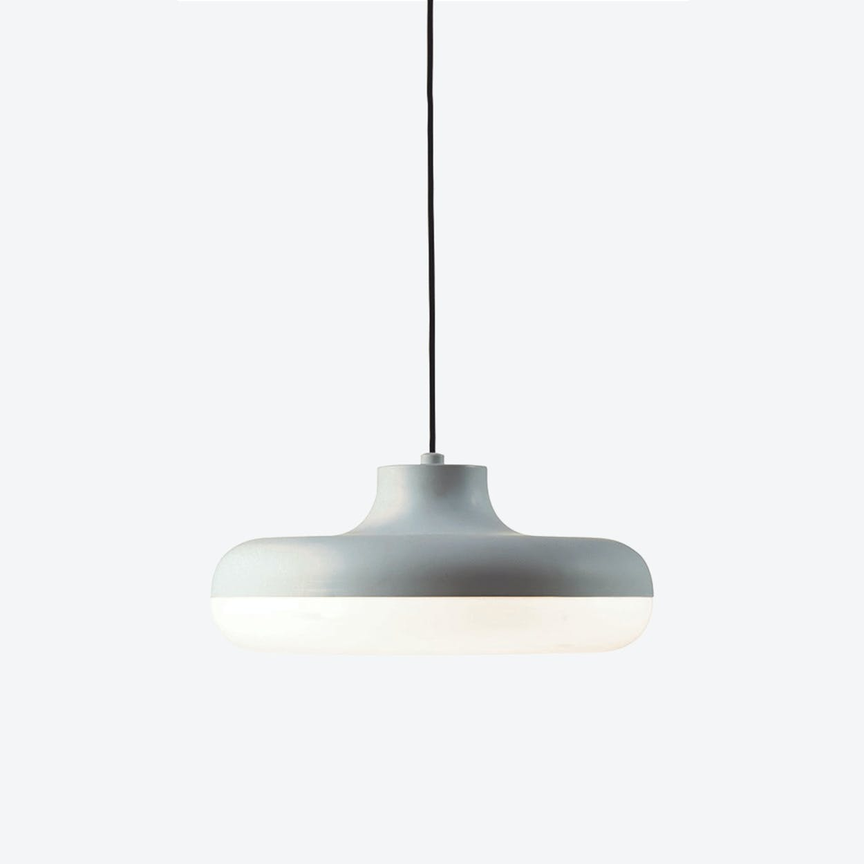 Chamberline Pendant Lamp in Matte Grey