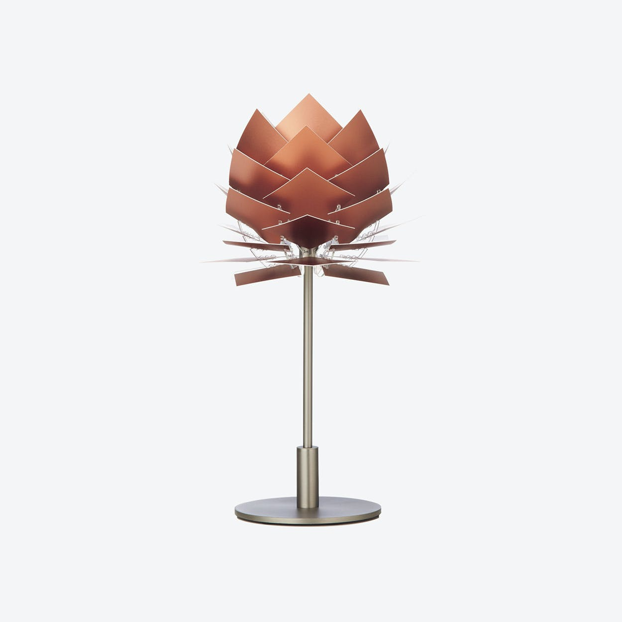 XS PineApple Table Lamp in Copper Look