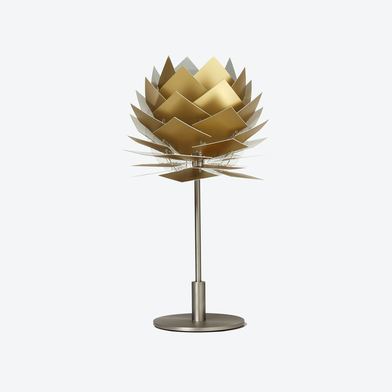 XS PineApple Table Lamp in Gold Look